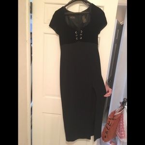 Dress,formal. Liz Claiborne Night.Midi. Velvet top